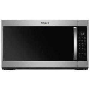 30-inch Whirlpool Microwave Oven, 2.1 cu ft, Stainless, Showroom
