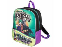 New LEGO Batman Movie Batman vs Joker Backpack