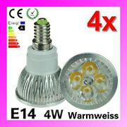 LED E14 Warmweiß 4W