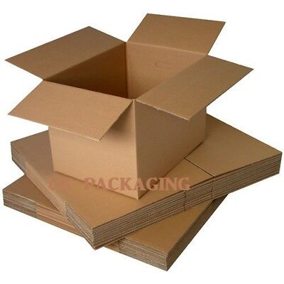 10 x Postal Packing Cardboard Boxes Packaging Mailing Cartons 6x6x6