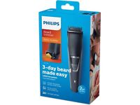 PHILIPS SERIES 3000 MODEL BT3226 BEARD TRIMMER CORDED/CORDLESS NEW IN BOX