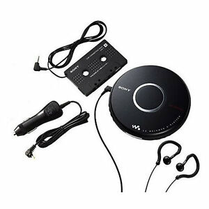 Refurbished-Sony-DEJ017CK-Walkman-Portable-CD-Player-with-Car-Accessories