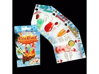 30 x Packs Cocktail Recipe Playing Cards Novelty Playing Cards Job Lot New Cards.£30.00