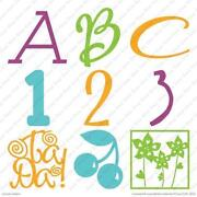 New Cricut Cartridges Lyrical Letters