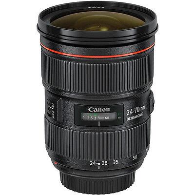 Canon EF 24-70mm f/2.8L II USM Lens for 5DS R 7D 5D 6D Mark III IV