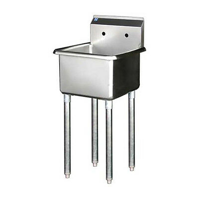 1 Compartment Bay 24x 24 Stainless Steel Prep Sink Nsf Approved Bsp-24-14