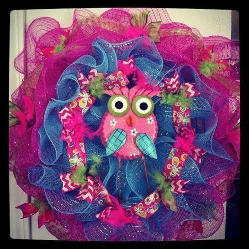 Poly mesh wreaths ebay