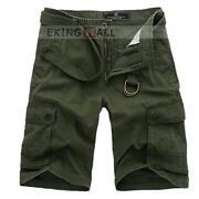 Mens Army Shorts