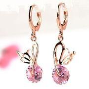 14kt Pink Gold Earrings