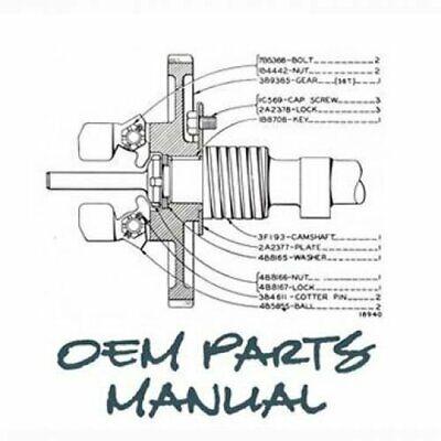 Parts Manual - 955 John Deere 955 Pc2263