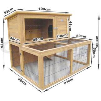 rabbit hutch GUINEA PIG, CAT ENCLOSURE $120 Tempe Marrickville Area ...