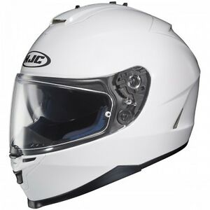 HJC IS-17 Helmet White/Casque de moto HJC IS-17 Blanc