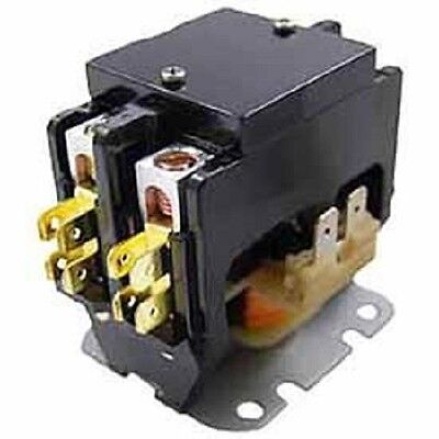 Packard C240a 40 Amp 24 Vac Double 2-pole Definite Purpose Contactor