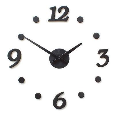 DIY Interior Design Clock Home Decoration Wall Clocks M_o
