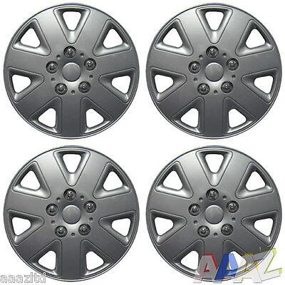 "14"" Wheel Covers Hub Caps 14 Inch Wheel Trims Trim Set Of 4 ABS Plastic Trim"
