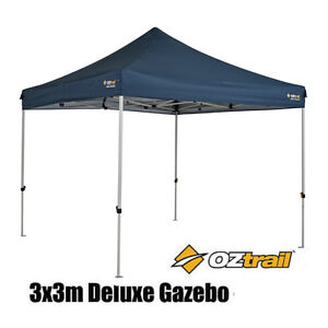 OZTRAIL DELUXE GAZEBO 3x3m Marquee Stall Stand *BRNEW* MARKET