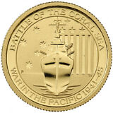1/10 oz Australian Battle Of The Coral Sea Gold Coin (BU)
