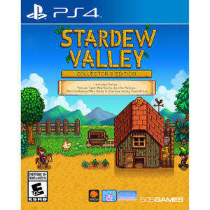 Stardew valley ps4 collector edition complet comme neuf 20$ !