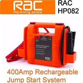 RAC 400 Amp Rechargeable CAr Battery Jump Start System