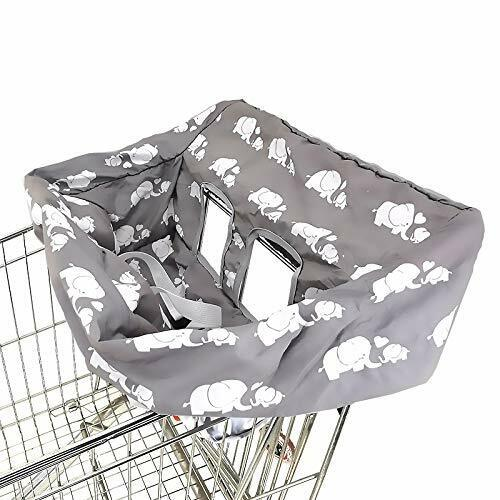 NEW! Portable Shopping Cart Cover  High Chair and Grocery Cart Covers for Babies