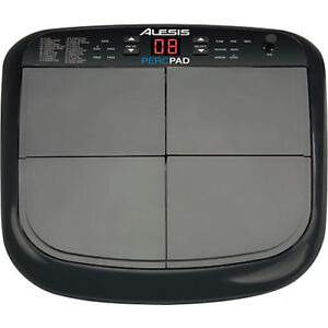Alesis PercPad Drum unit, with bracket and mic stand holder