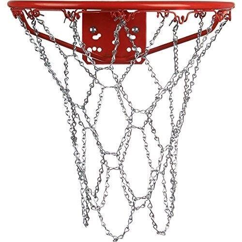 Sidelines Basketballnetz aus Stahl Ersatznetz Korbnetz für Basketball