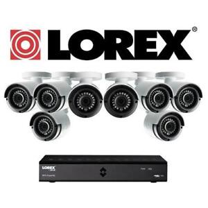 NEW LOREX 1080P SECURITY SYSTEM LHA21081TC8B 144648879 8-CHANNEL 1TB HDD SURVEILLANCE DVR INDOOR/OUTDOOR WIRED CAMERAS