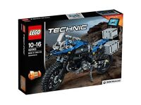 LEGO Technic 42063 BMW R 1200 GS Adventure Bike - BRAND NEW AND SEALED