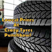 15 inch Second Hand Used Tyre From $20 Each @ Crazy Tyres Punchbowl Canterbury Area Preview