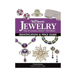 Warman's Jewelry Identification and Price Guide 5th Edition Values Book