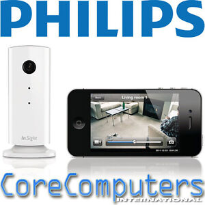 Philips IN Sight Wireless Home Monitor M100 Security ...