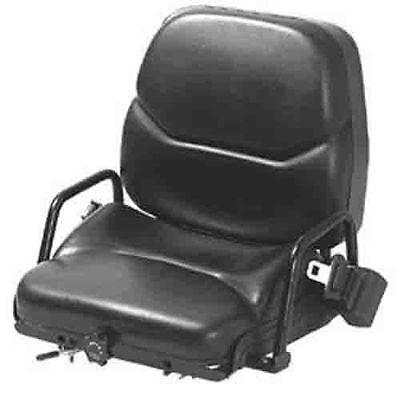 Wise Vinyl Forklift Seat Tcm White Mobilift-wise-21.5x19x23.25-vinyl
