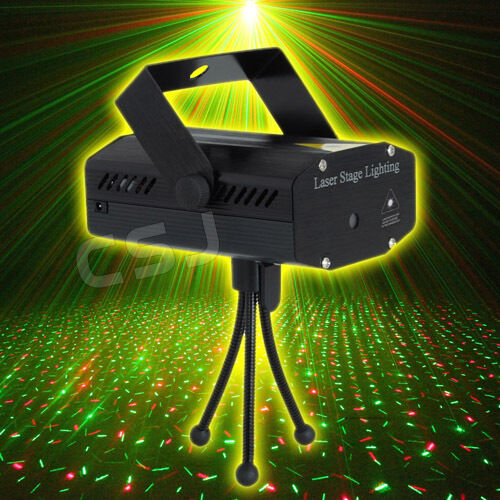 Music Control Laser Stage Light Lighting Party Projector Xmas Home Party Gift AU