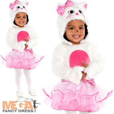 Wee Whiskers Baby Girls Fancy Dress Cat Kitty Animal Toddler Infant Costume 0-24 ()