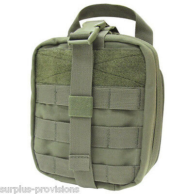 Condor - Tactical Rip-away Emt Pouch - O.d. Green - Large First Aid Bag - Ma41