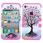 iPhone 4 Case Love Tree