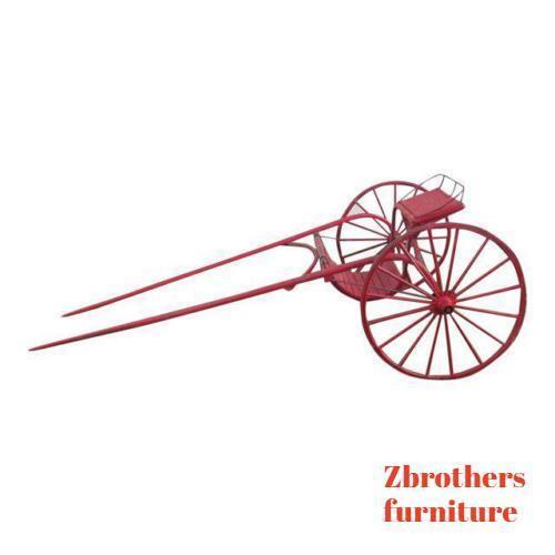 Antique Horse Racing Sulky Training Cart Wagon Rare Primitive