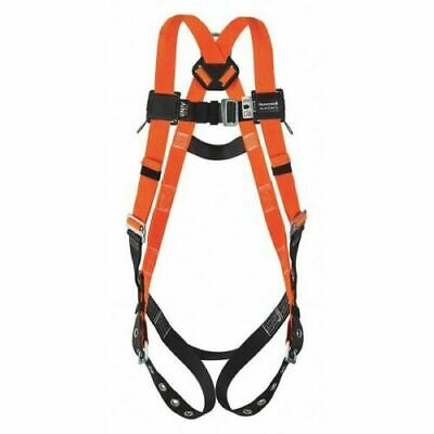 Miller T4500-uak Xxxltitan Non-stretch Harness With 6 Lanyard Wrebar Hooks