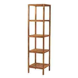 BN ikea Acacia Pine Wood MUSKAN 5 Tiers Shelving Shelf Unit 167cm Epping Ryde Area Preview