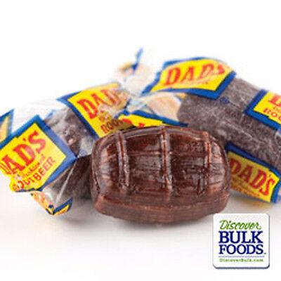 Washburn 15 oz Dad's Root Beer Barrels Bulk Bag Wrapped Old Fashioned Hard Candy](Root Beer Barrels)