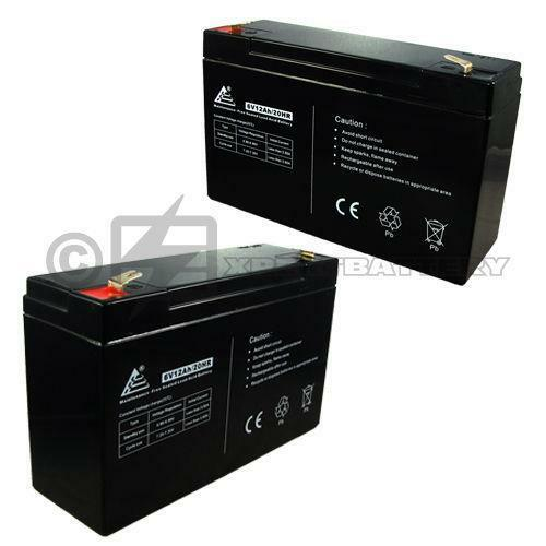 6 volt 12 amp battery ebay. Black Bedroom Furniture Sets. Home Design Ideas