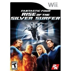 Fantastic Four: Rise Of The Silver Surfer For Wii With Manual