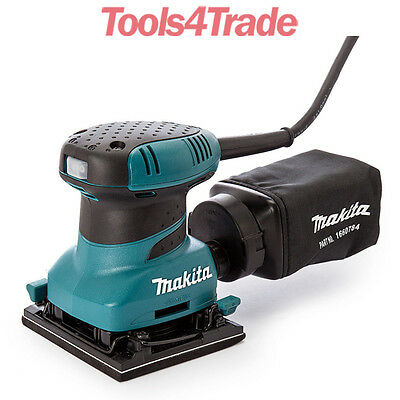 Tools 4 Trade >> Makita BO4556 Palm Sander Plus Clamp 240V | eBay