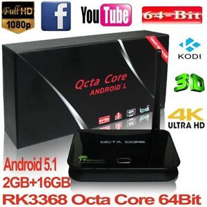 BRAND NEW 2016 OCTACORE ANDROID TVBOX**FULLY PROGRAMMED*WARRENTY
