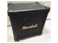 RANDALL RG8 MINI CAB, METAL TONES