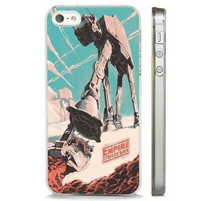 Empire Strikes Back Star Wars CLEAR PHONE CASE COVER fits iPHONE 5 6 7 8 X