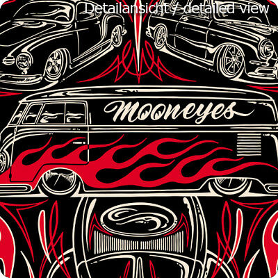 Holy Garage Poster Aircooled Family Pinstriping Cox Wildman MOONEYES MOON Makoto
