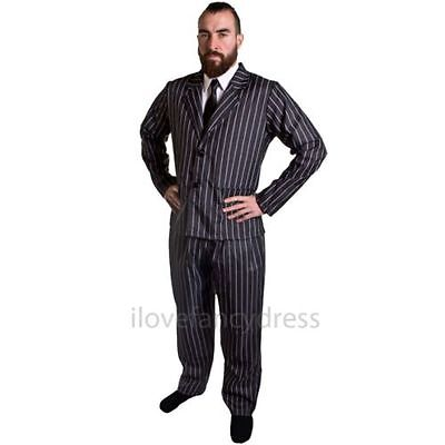 MENS GOTICO MARITO MR TV FILM CHARACTER COSTUME HALLOWEEN - Tv Character Halloween Costume