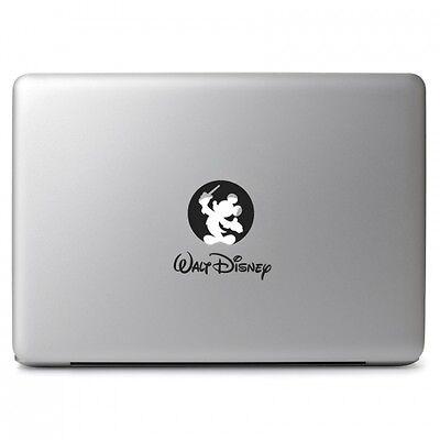 "Mickey Walt Disney Vinyl Decal Sticker Skin for Macbook Air Pro 11 12 13 15 17"""