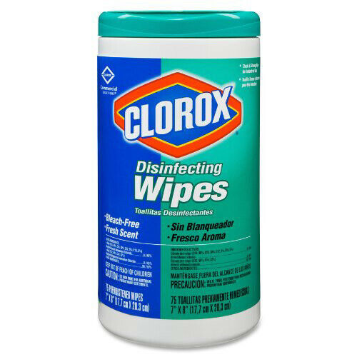Clorox 15949CT 6-Pack Disinfecting Wipes - Fresh Scent New